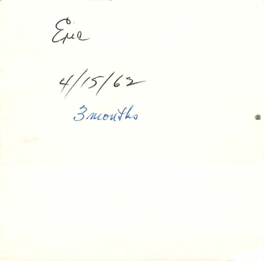 Eric 4/15/62 3 months
