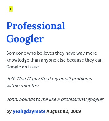 professional-googler